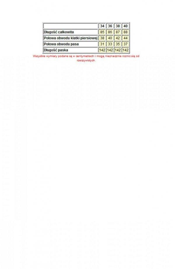 Bicotone 2139-02N sukienka rozkloszowana