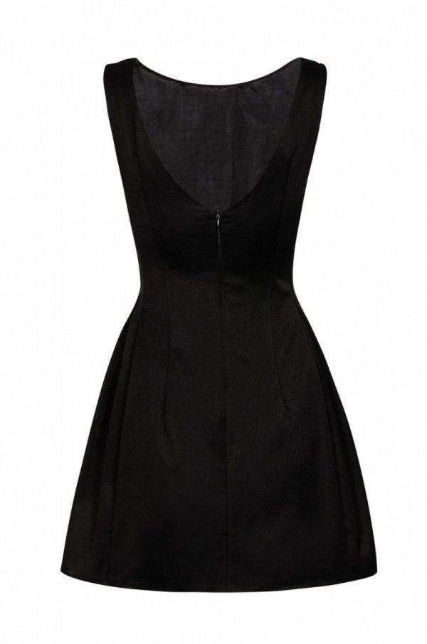 Ivon 186 sukienka czarna