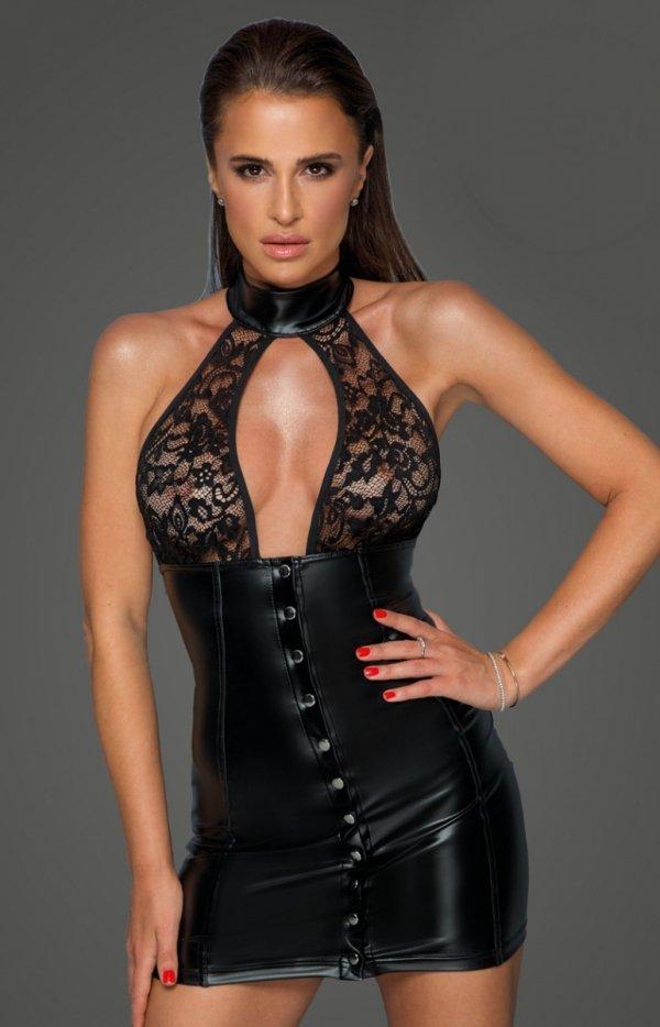 Seksowna sukienka powerwetlook F224