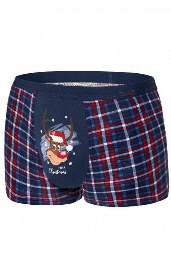 Cornette 007/57 Reindeer Merry Christmas bokserki