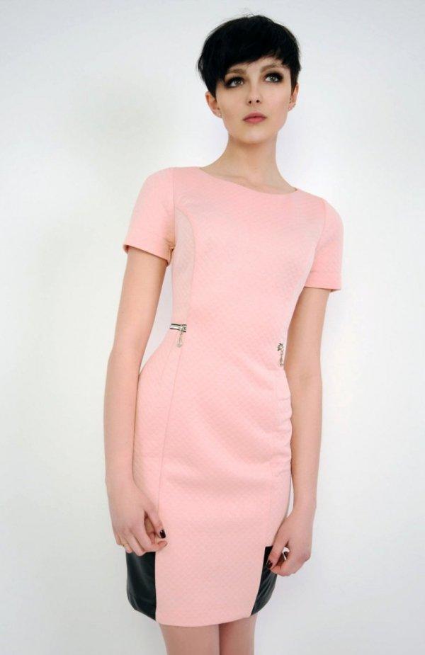 Vera Fashion Violette sukienka pudrowy