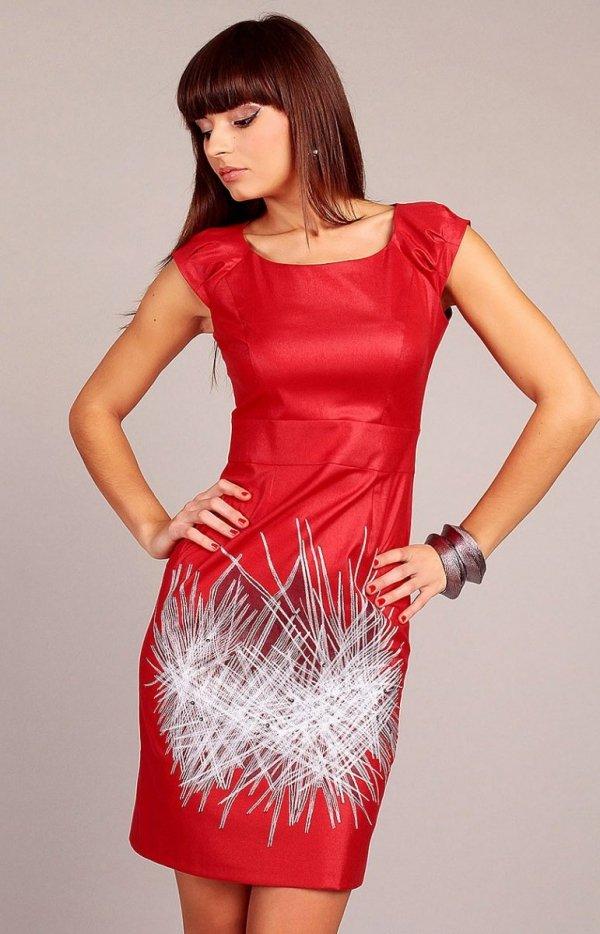 Vera Fashion Denise sukienka czerwona