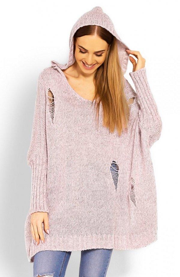 PeekaBoo 30055 sweter różowy