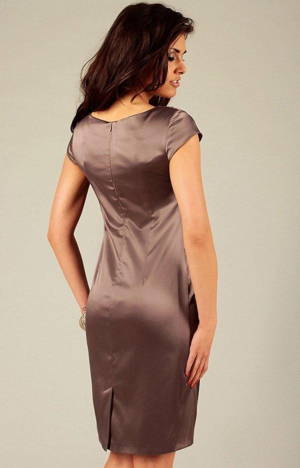 Vera Fashion Tamara sukienka brązowa