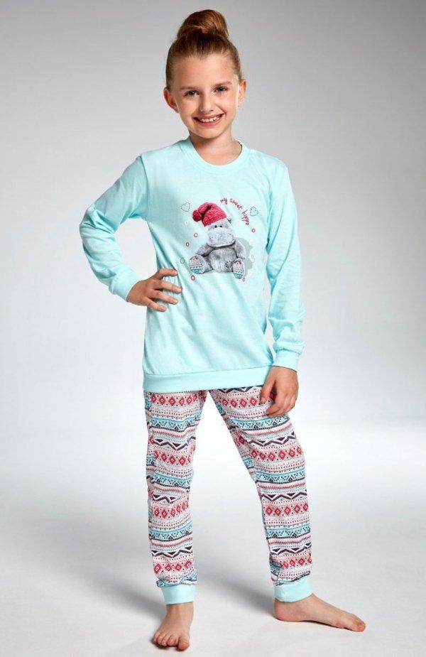Cornette Kids Girl 594/95 Hippo piżama
