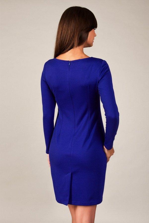 Vera Fashion Sophie sukienka szafirowy tył