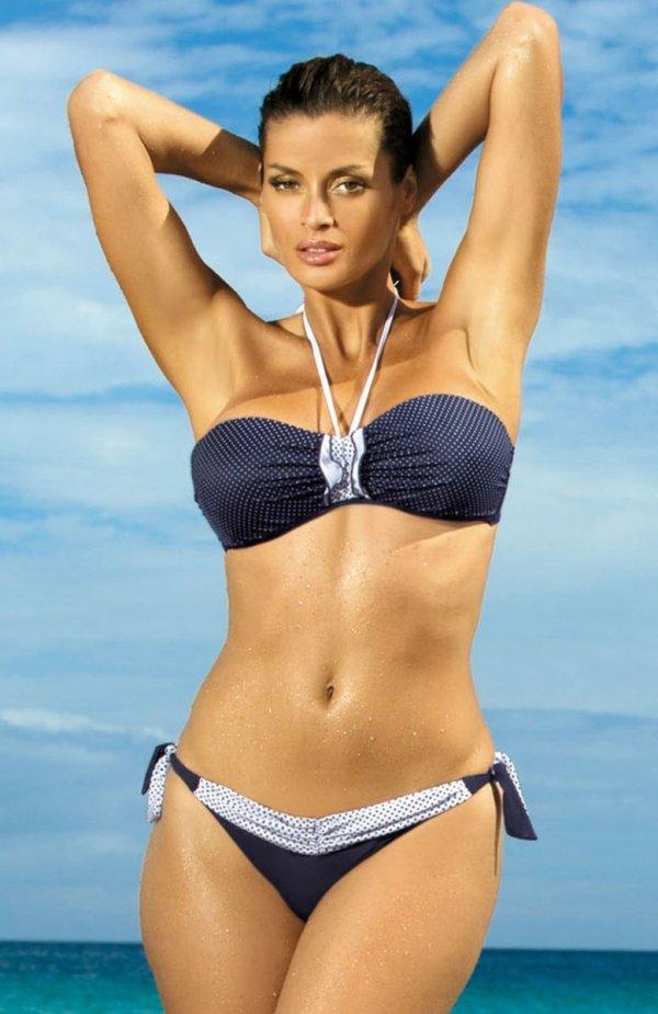 Marko Kostium kąpielowy Emily Uniform M-217 Granatowy (144)