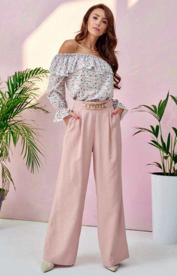 Szerokie spodnie plazzo 0011-1