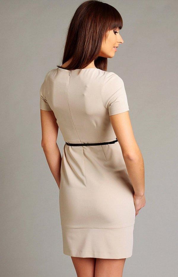 Vera Fashion Susanne sukienka beżowa