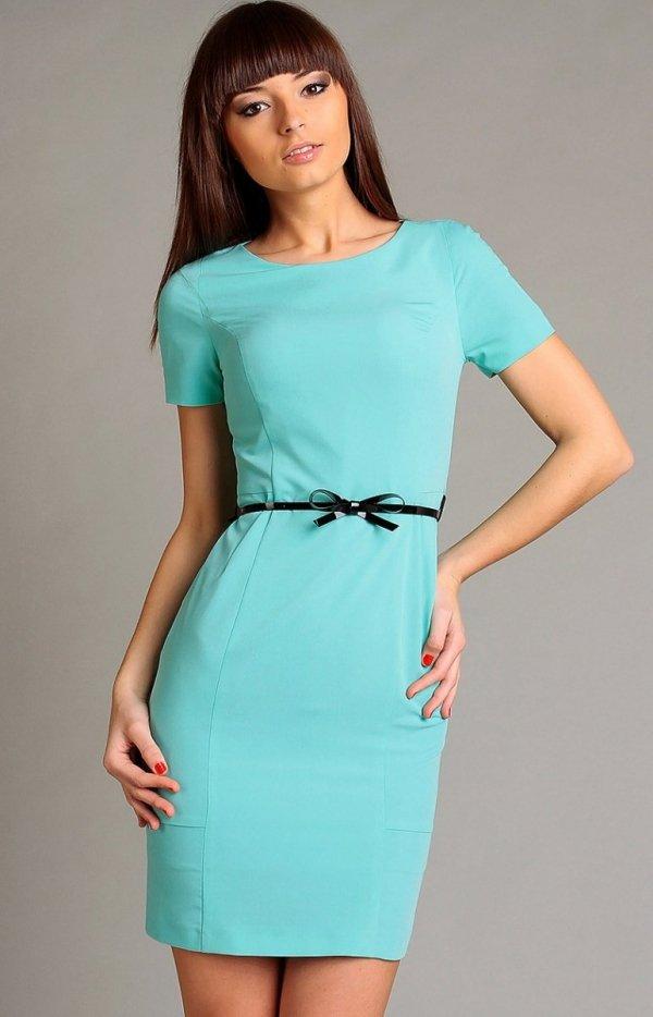 Vera Fashion Susanne sukienka miętowa