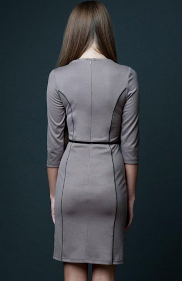 Vera Fashion Pola sukienka beżowa