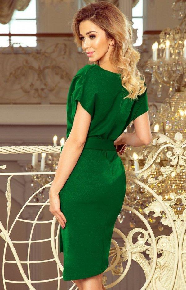 Sukienka z wiązanym paskiem Roxi Numoco 240-1 tył