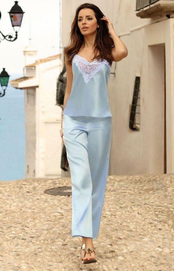 Dkaren satynowa piżamka damska Melanie