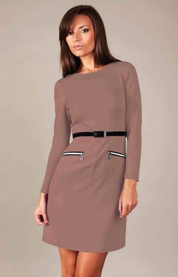 Vera Fashion Angela sukienka beżowa