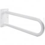 Poręcz stała łukowa dla niepełnosprawnych Faneco S32UUS5 SW B 50 cm stal węglowa emaliowana