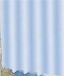 Zasłona prysznicowa tekstylna Bisk UNITY 00840 błękitna