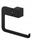 Uchwyt WC Bisk Futura Black 02963 na papier toaletowy w rolce