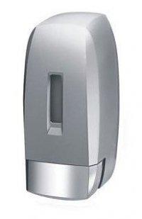 Dozownik mydła w płynie i płynów do dezynfekcji Bisk 04587 H2 0,5 litra z tworzywa ABS