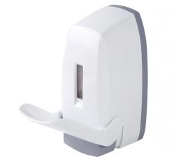 Dozownik (dystrybutor) łokciowy do płynów dezynfekcyjnych i mydła w płynie WF-064-EB 0,5 litra z tworzywa ABS