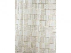 Zasłona prysznicowa Bisk PEVA LINES 05842 180x200 cm