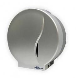 Pojemnik (podajnik) Bisk Masterline Jumbo (00505) na papier toaletowy w rolkach, ścienny, z tworzywa ABS
