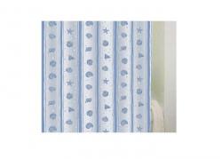Zasłona prysznicowa Bisk PEVA SHELL 03810 180x200 cm
