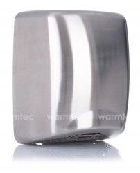 Suszarka do rąk Warmtec Q-Flow 1800W matowa, automatyczna, srebrna ze stali nierdzewnej