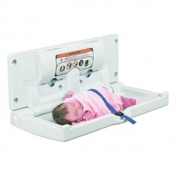 Poziomy przewijak ścienny HQ CareSenz H79 składane stanowisko do przewijania dzieci i niemowląt
