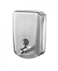 Dozownik (dystrybutor) mydła w płynie Bisk Masterline (04084) 0,5 litra ze stali nierdzewnej