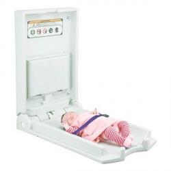 Pionowy przewijak ścienny HQ CareSenz H80 składane stanowisko do przewijania dzieci i niemowląt