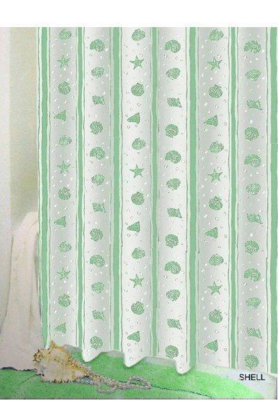 Zasłona prysznicowa Bisk PEVA SHELL 03803 180x200 cm