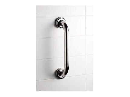 Prosty uchwyt łazienkowy Bisk Masterline PRO 04779 250 mm - atestowana poręcz łazienkowa