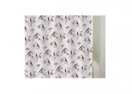 Zasłona prysznicowa Bisk PEVA FLOWER 03712 180x200 cm
