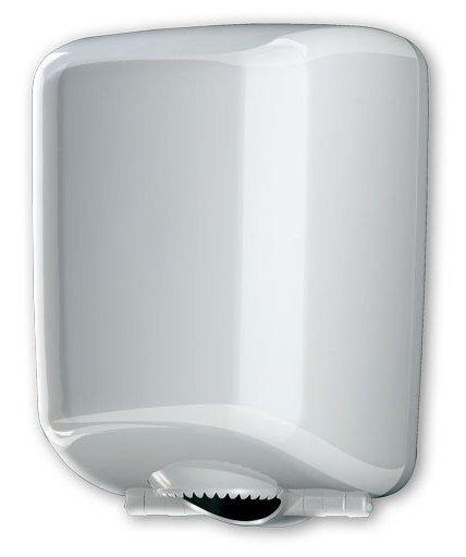 Pojemnik (podajnik) Faneco Midi Zen (LCP0521B) na ręczniki papierowe w rolkach, ścienny, plastikowy ABS
