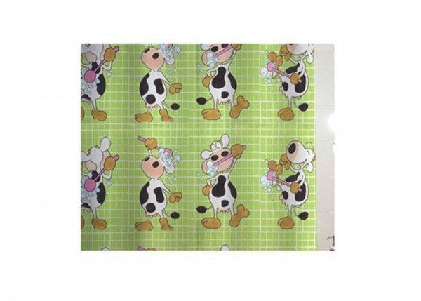 Zasłona prysznicowa tekstylna Bisk FUN 00831