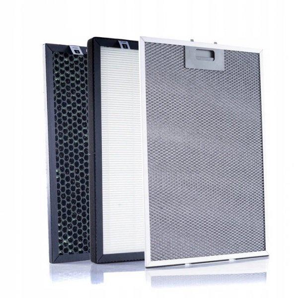 zestaw filtrów do oczyszczacza Warmtec AP350, KDAP01