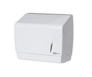Pojemnik (podajnik) Bisk Masterline (00344) na ręczniki papierowe ZZ w listkach, ścienny, z tworzywa ABS