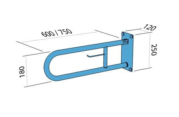 poręcz-dla-niepełnosprawnych-łukowa-uchylna-z-miejscem-na-papier-60-cm-makoinstal-psp-660p-wymiary