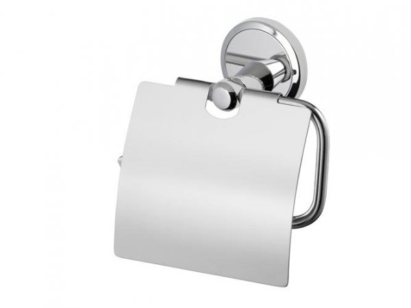 Uchwyt WC z klapką Bisk Seduction 03586 na papier toaletowy w rolce