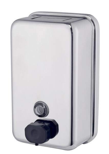 Dozownik (dystrybutor) mydła w płynie metalowy SD1000MB3 pojemność 1litr