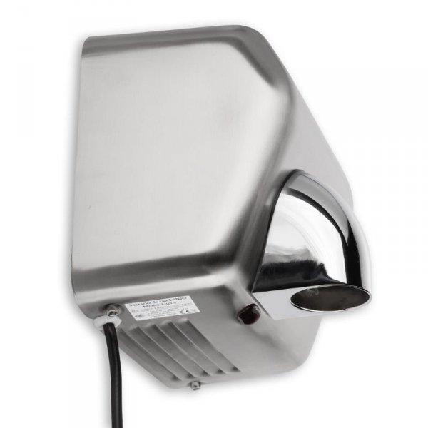 Suszarka elektryczna do rąk Sanjo® LUPUS 2500W ze stali - 3 lata gwarancji