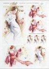 water lilies, dance, dancing woman, Magdalena Rochoń, R278