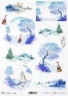 Navidad, vistas de invierno, animales*Weihnachten, Winteransichten, Tiere*Рождество, зимние виды, животные
