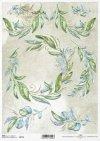 Decoupage Papier Zweige, Blätter*decoupage papírové větvičky, listy*papel decoupage ramitas, hojas
