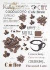 napisy-kawa-ziarna-kawy-filiżanka-Cafe-Brule-cappucino-Mocha-Espresso-R0143