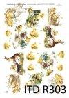 Wielkanoc, kurczaki, kurczaczki, kaczuszki, zające, króliki, kwiatki, wiosna, jajka, pisanki, R303