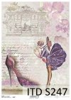 Decoupage paper Soft ITD S0247