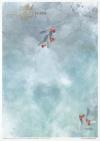 Conjunto creativo en papel de arroz - Navidad en azul*Kreativsatz auf Reispapier - Weihnachten im Blau*Креативный набор на рисовой бумаге - Рождество в синем