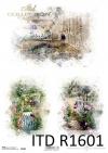 Akwarele, romantyczne ogródki, sielskie widoki * Watercolors, romantic gardens, idyllic views