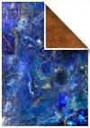 Satz Scrapbooking-Papiere - Edelsteine*Conjunto de papeles de scrapbooking - Stones Precious